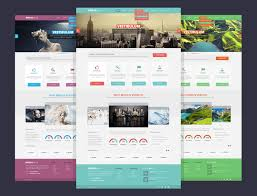 15 stylish web design free psd templates free psd files