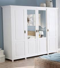 Schlafzimmerschrank Romantisch Kleiderschrank Weiß Landhausstil 3 Türig Mxpweb Com