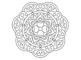 Download rangoli coloring pages clipart Colouring Pages Rangoli