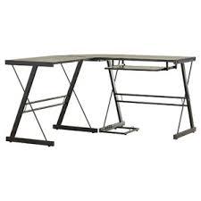 Glass L Shaped Computer Desk by L Shaped Desks You U0027ll Love Wayfair