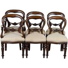antique dining room chairs