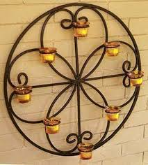 Candle Wall Sconces Wrought Iron 12 Delightful Wrought Iron Candle Holder For House Walls Top