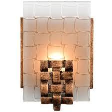 Rustic Bathroom Sconces - rustic naturals varaluz