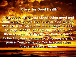 prayer for the sick to be healed prayers for mental illness