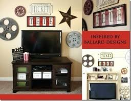 home movie room decor cinema decorating ideas movie theater decorations themed parties