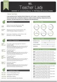 Sample First Year Teacher Resume by Homely Ideas Resumes That Stand Out 7 15 Example First Year