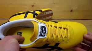 onitsuka tiger tai chi yellow black youtube