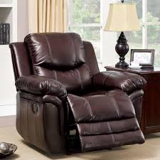furniture modern leather recliner recliner dimensions stylish
