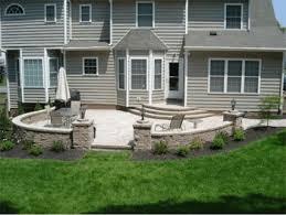 Rock Patio Design Garden Design Plans September 2013