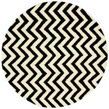 Black Round Rug Black And White Striped Rug Canada Area Rug Ethereal Gray 2 Ft