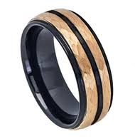 Mens Tungsten Carbide Wedding Rings by 8mm Unisex Or Men U0027s Wedding Bands Hammered Finish Men U0027s