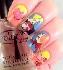 18 saturday morning cartoon inspired nail art designs