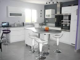 cuisine ouverte avec ilot table cuisine ouverte avec ilot table galerie avec idee cuisine avec ilot