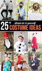 25 Simple Do It Yourself Halloween Costume Ideas