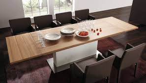 Beech Kitchen Table by Contemporary Dining Table Walnut Beech Natural Oak Et 1500