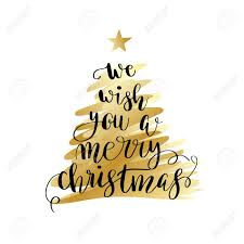 we wish you a merry poster or greeting card