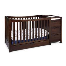 Crib That Converts To Twin Size Bed by Sorelle Tuscany 4 In 1 Convertible Crib And Changer Combo Hayneedle