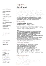cv sle oracle resume gse bookbinder co
