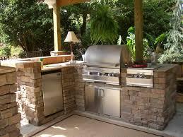 Outside Kitchen Design Ideas Outdoor Kitchen With Deck Design Ideas Caruba Info