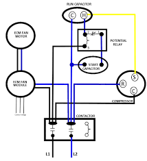 4 wire and 3 condenser fan motor wiring how to eliminate 2 also