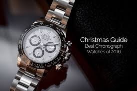 watches chronograph shopping guide the best chronograph watches of 2016