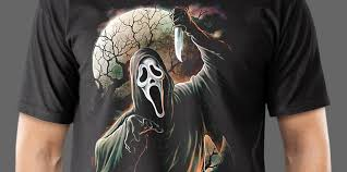 scream u0027 20th anniversary ghostface t shirt collection from fright