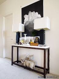 narrow entryway console table narrow console table for hallway lv condo