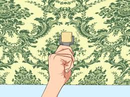 Ceiling Wallpaper by Wallpaper How To Articles From Wikihow