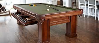 8ft brunswick pool table brunswick oakland pool table chestnut 8ft with drawers for sale at
