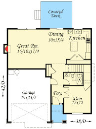 Tudor Floor Plan 3 Bed Tudor House Plan With Bonus Room 85127ms Architectural