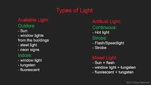 Types Of Photography Types Of Photography Lighting Lilianduval
