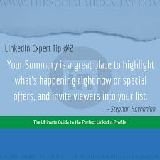 linkedin summary best practices the complete guide to the perfect linkedin profile