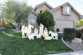 Diy Outdoor Lawn Christmas Decorations Christmas Yard Nativity Diy Craft I Heart Nap Time