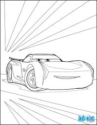 cars 3 jackson storm coloring pages hellokids com disney