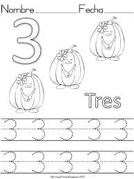 number 3 three tracing and coloring worksheets crafts and