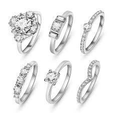 silver rings set images Aceta silver ring set indigo lune jpg