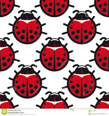 seamless background pattern of ladybugs stock vector image 39418827
