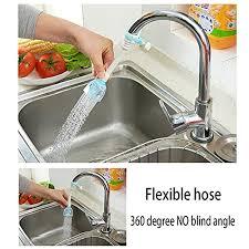 Attach Hose To Kitchen Sink by Kitchen Faucet Sprayer Aerator Hose Flexible Sink Attachment