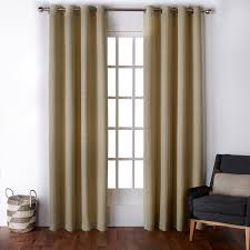 exclusive home virenze faux silk grommet top window curtain panels