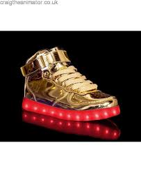 gold light up sneakers price light up shoes hoverkicks mens metallic super nova gold with