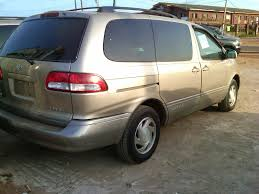 toyota price clean toyota sienna 2003 model xle tokunbo full option for