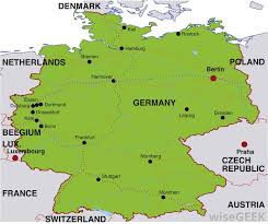 map of germany with states and capitals what are the political in germany with pictures
