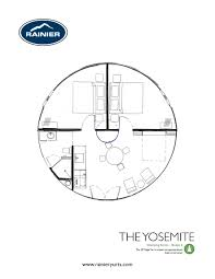 introducing our glamping floor plan series rainier yurts