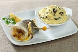 recette cuisine vapeur recette de daurade vapeur à la poivronnade polenta crémeuse aux