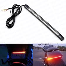 Motorcycle Led Strip Lights by 1x Motorcycle Flexible Rear Tail Box 48 Led Light Bar Strip Red