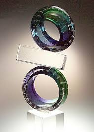 glass wedding rings applebaum glass artist adammsgallery