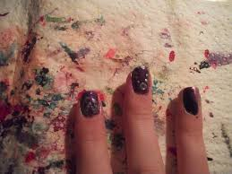 the virtual nail salon formal purple and black ideas ferns and