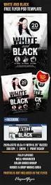 white and black u2013 free flyer psd template facebook cover u2013 by