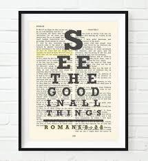 see the good romans 8 28 bible page christian art print u2013 parody