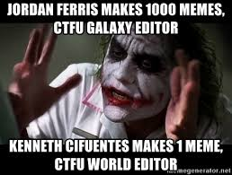 Memes Photo Editor - jordan ferris makes 1000 memes ctfu galaxy editor kenneth